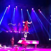Photo taken at Cirque Amar - Place Des Quinconces by Jean L. on 7/16/2013