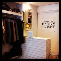 Photo taken at Luxe Boutique 'Bangs Closet' by Randy F. on 8/9/2013