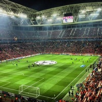 Photo taken at Türk Telekom Arena by Karahan S. on 10/23/2013
