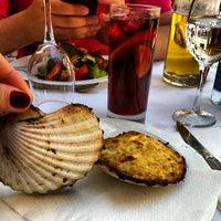 Photo taken at Restaurant La Font de Prades by Mariya I. on 6/2/2013