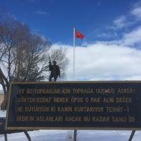 Photo taken at Sarikamis Sehitligi by Gülnur G. on 2/26/2018