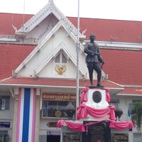 Photo taken at ศาลากลางจังหวัดสุโขทัย by ratchanee s. on 8/19/2014