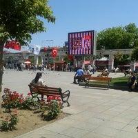 Photo taken at Bakırköy Özgürlük Meydanı by Arzu Ç. on 5/18/2013