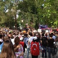 Photo taken at Cumhuriyet Parkı by Elif T. on 6/1/2013