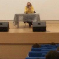 Photo taken at Sifa Universitesi Konferans Salonu by Berkcan Z. on 10/27/2015