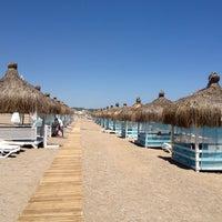 Photo taken at Amara Dolce Vita Beach by Алексей К. on 5/20/2013