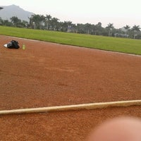 Photo taken at Brigif Running Track by Firman S. on 11/28/2012