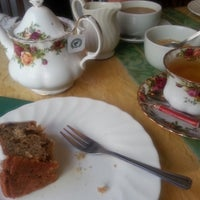 Photo taken at Comptons Tea Rooms by Kristine L. on 9/21/2013