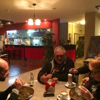 """Photo taken at FIL """"Food is love by Alexa V. on 11/22/2014"""