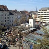 Photo taken at Markt am Carlsplatz by Sándor B. on 4/20/2013