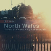 Photo taken at SEPTA North Wales Station by Joshua L. on 7/29/2013