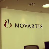 Photo taken at Novartis by Ярослав К. on 3/20/2014