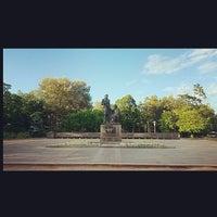Photo taken at Памятник «Пушкин и крестьянка» by Ярослав К. on 8/13/2014