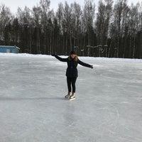 "Photo taken at Каток на стадионе ""Химик"" by Katerina L. on 3/6/2018"