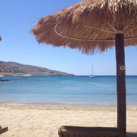 Photo taken at Porto Koundouros Beach by Angela K. on 7/24/2013