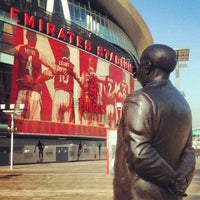 Photo taken at Emirates Stadium by Jaehwa J. on 3/5/2013