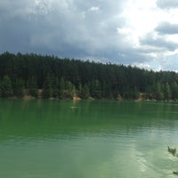 Photo taken at Голубые Озера / Blue Lakes by Viktoriya Z. on 6/9/2013