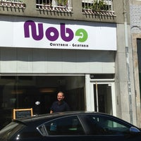 Photo taken at Nobe by Jose E. on 9/9/2013