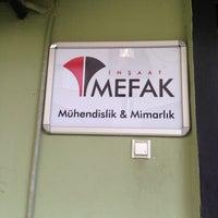 Photo taken at Mefak İnşaat by Mustafa C. on 4/27/2013