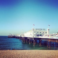 Photo taken at Brighton Palace Pier by Laura S. on 7/20/2013