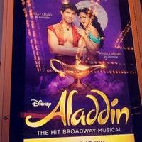 Foto tomada en Aladdin @ New Amsterdam Theatre por Yesi el 8/13/2018
