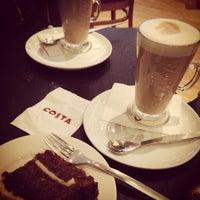 Photo taken at Costa Coffee by Necla Işık D. on 2/26/2014
