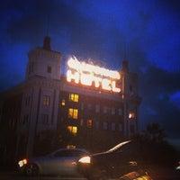 Photo taken at California Hotel by Tiago M. on 12/19/2014