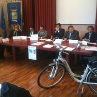 Photo taken at Provincia Pescara by Giancarlo O. on 12/18/2012