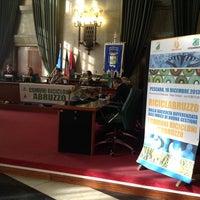 Photo taken at Provincia Pescara by Giancarlo O. on 12/16/2013