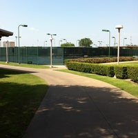 Photo taken at Greenhill Tennis Center by Debbie L. on 6/26/2013