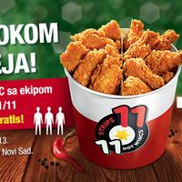 Photo taken at KFC by KFC Srbija on 5/17/2013