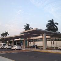Photo taken at Aeropuerto Internacional de Mérida Manuel Crecencio Rejón (MID) by Gabbe C. on 4/16/2013