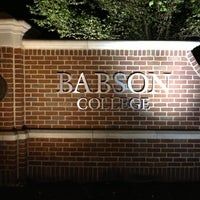 Photo taken at Babson College by Dante P. on 5/14/2013