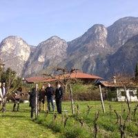 Photo taken at Elisabetta Foradori by Patrick D. on 3/31/2014