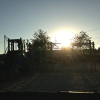 Photo taken at Cannon Beach Playground by Johnpaul M. on 9/1/2013