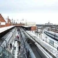 Photo taken at Helsingør Station by Kenny M. on 12/2/2012