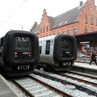 Photo taken at Helsingør Station by Kenny M. on 10/13/2013