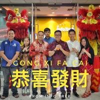 Photo taken at Info Trek by Daqing L. on 2/2/2017