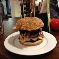 Photo taken at Gourmet Burger Kitchen by Timur Ö. on 9/6/2013