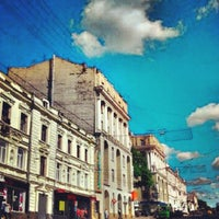 Photo taken at Вулиця Сумська / Sumska Street by Dima K. on 5/26/2013