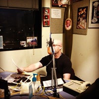 Photo taken at 107.7 The Bone by Baby H. on 3/13/2013