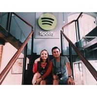 Photo taken at Spotify Asia HQ by bellestar on 3/14/2015