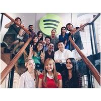 Photo taken at Spotify Asia HQ by bellestar on 2/26/2015