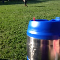 Photo taken at Moore/Hawthorne KLOR Kickball by Caitlin P. on 6/12/2013