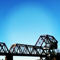 Photo taken at Salmon Bay Bridge by TJ H. on 2/15/2013