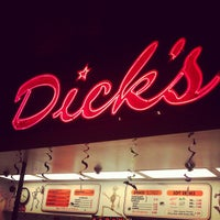 Photo taken at Dick's Drive-In by TJ H. on 10/29/2012