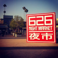 Photo taken at 626 Night Market by Starry K. on 6/8/2013