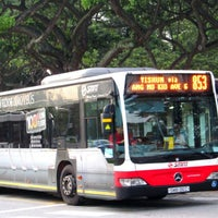 Photo taken at SMRT Buses: Bus 853 by Shy R. on 9/13/2013