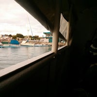 Photo taken at Inside The Boat - Bohol by Toyo M. on 7/28/2013
