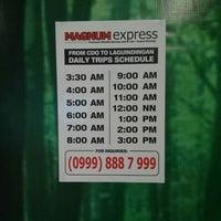 Photo taken at Magnum Express by Toyo M. on 8/25/2013